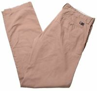 TIMBERLAND Mens Chino Trousers W32 L34 Brown Cotton  MD23
