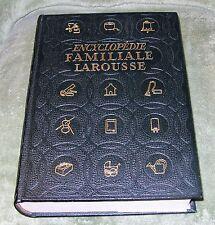 ENCYCLOPEDIE FAMILIALE LAROUSSE  André et Georges Braive ~ 1951 HB ~ French