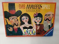 DAS MALEFIZ SPIEL - BARRICADE - RAVENSBURGER - JAHR 1960 - 100 % KOMPLETT