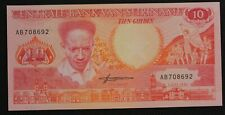Suriname - Billet de 10 Gulden 1986 P-131 Neuf - UNC