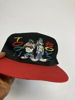 Taz And Bugs Hip Hop Vintage Duo Snapback Hat Loony Toons