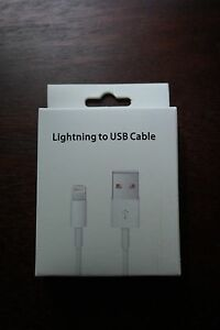 New In Box! Lightning cable for the iPhone 5/5s and iPad mini/4/air