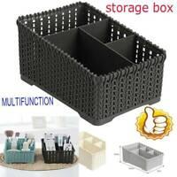 Multifunction Storage Organizer Basket Makeup Holder Bathroom Sundries Desk F5B6