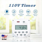 110V Timer Switch Digital LCD Power Relay Weekly Programmable Electronic Timer photo