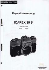 Zeiss Ikon Voigtländer Reparaturanweisung für Icarex 35