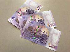 3 x limitierter Null Euro Schein Martin Luther 2017 Neu und Bankfrisch 3 Stück