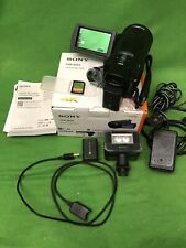 """Sony FDR-AX33 Handycam Camcorder 3"""" Touch Screen - Black - With IR / Spotlight"""