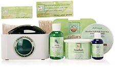 CLEAN & EASY Pot Wax Brazilian Kit w/ DVD, Warmer, Pot wax, sticks, collars