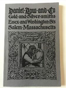 DANIEL LOW AND CO. Gold and Silversmiths Catalogue 1901 reproduction SC VG