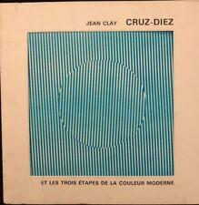 CRUZ-DIEZ CARLOS ET LES TROIS ETAPES DE LA COULEUR MODERNE 1969