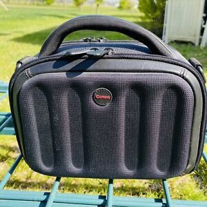 Small Canon Camera Camcorder Bag 9x6x4 Black With Red Logo