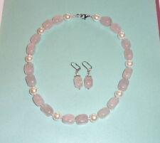 Echtschmuck-Halsketten aus Edelstahl mit Perle
