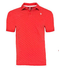Mens MEDIUM Official MANCHESTER UNITED Heritage Dot Polo Shirt Football Top T