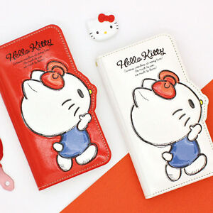 Hello Kitty Friends 3D Silhouette Flip Case iPhone X XS XS Max XR Case 12 Types