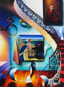 """""""Stairway to the Masters II"""" by Ferjo - Limited Edition, Giclee on canvas!"""