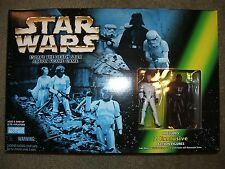 Star Wars Escape the Death Star Action Figure Game Luke Skywalker & Darth Vader