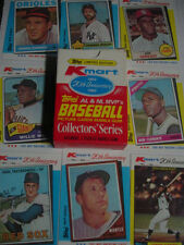 1982 Topps KMart Set 44 Cards Mickey Mantle Hank Aaron Bob CLEMENTE Bob Gibson