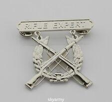 US MARINE CORPS USMC RIFLE EXPERT SHOOTING BADGE PIN