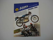 advertising Pubblicità 1978 MOTO ASPES JUMA 125