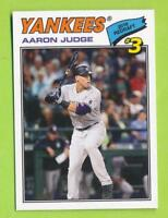 2018 Topps TBT 1977 Design Redraft - Aaron Judge (#99)  New York Yankees