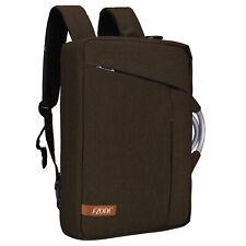 Men's 15.6'' Laptop Briefcase Business Messenger Shoulder Bag Backpack Handbag