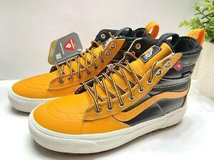 Vans Sk8 Hi Top Mte 2.0 Dx  Mens Boot Sneaker Apricot Black VN0A4P3I2NF 7-10.5