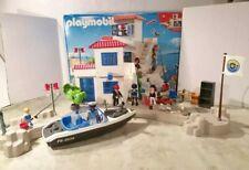 Playmobil 5128 - Polizei Police Hafenpolizei mit Schnellboot mit OVP
