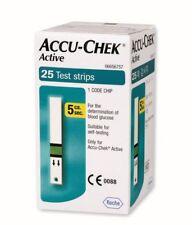 ACCU CHEK ACTIVE - 25 Strisce per controllo glicemia