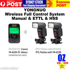 YONGNUO Wireless Full Control ETTL HSS System  For Canon or Nikon