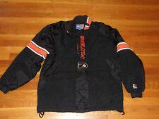 Vintage Starter Philadelphia Flyers 1/2 Zip Pullover Jacket Mens Medium No Hood