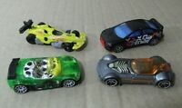 Lote  coches 4 Hot Wheels Trak Tune, F1, Ballistik, Lancer Evolution, vintage