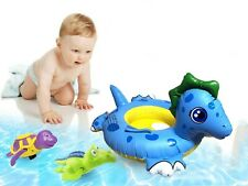 Baby Kids Toddler Swimming Pool Swim Seat Float Boat Ring Turtle Design