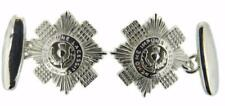 New 925 Sterling Silver SCOTS GUARDS Men's Cufflinks. Excellent quality