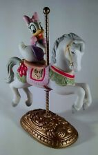 New England Collectors Society Disney Character Carousel Figure Daisy Duck