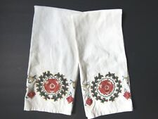 """Suzani Embroidered Guest Hand Towels Set of 2 towels by Pottery Barn 20"""" x 30"""""""