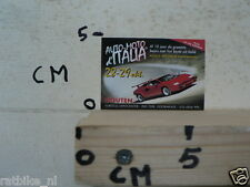 STICKER,DECAL AUTO MOTO ITALIA HOUTEN