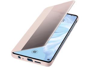 Funda - Huawei Flipcover, Para Huawei P30, Plástico duro, Con tapa, Rosa