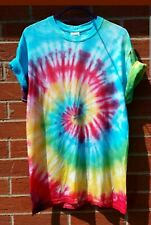Rainbow TIE DYE T-SHIRT Brand New Top Tshirt Festival Hipster tiedye Tye Dye