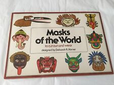 1977 Masks of the World to Cut Out and Wear designed by Deborah Horner