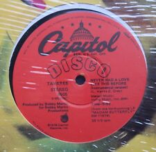 "Tavares Classic Capitol 12"" Single in Shrink 1978"