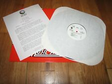 XTC THE SKYLARKING INTERVIEW WITH ANDY PARTRIDGE - PROMO GEFFEN RECORDS LP