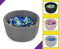 Tweepsy Baby Round Foam Ball Pit with 250 Plastic Balls - BKOZ1