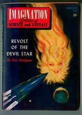 IMAGINATION Stories of SCIENCE and FANTASY February 1951! Vintage Sci Fi Pulp!