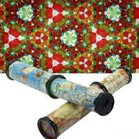 30cm rotierender magischer Kaleidoskop-justierbarer u. Buntes Fokus Puzzles W0Y8