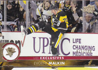 17-18 Upper Deck Evgeni Malkin /100 UD Exclusives Penguins 2017