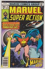 Marvel Super Action #4 Featuring Marvel Boy, Very Fine Condition!