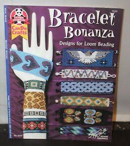 Bracelet Bonanza Designs for Loom Beading Suzanne McNeill 5144 2003 PB Book