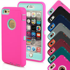 Hybrid Rugged Shockproof Dirt proof Full Hard Case Cover For iphone 6/6S/Plus