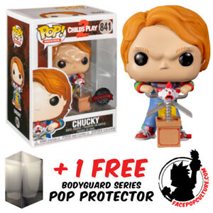 FUNKO POP VINYL CHILDS PLAY CHUCKY WITH BUDDY AND SCISSORS #841 EXCLUSIVE