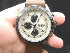 NEW OLD STOCK FOSSIL DECKER CH2882 CHRONOGRAPH DATE QUARTZ MEN WATCH